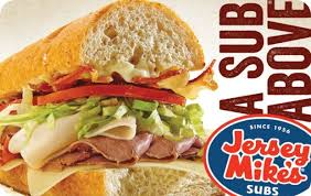 Jersey Mike's eGift Card   GiftCardMall.com
