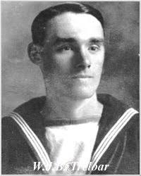 Photo of Walter James Breach Treloar, courtesy of his grandson, Walter Treloar, Feb WALTER JAMES BREACH TRELOAR Leading Seaman, P/J 103386, Royal Navy - TreloarWJB