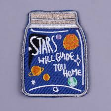 <b>Pulaqi</b> Star Bottle Exquisite Embroidery Patch Cartoon Planet ...