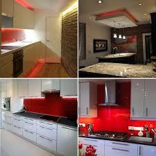 home red under cabinet kitchen lighting plasma tv led strip sets cabinet kitchen lighting cabinet lighting ikea sunco