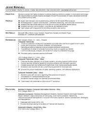 Sample Cover Letter For A Computer Technician   LiveCareer