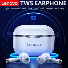New Original <b>Lenovo LP1 Wireless Bluetooth</b> Headset V5.0 Touch ...
