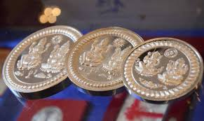 Image result for silver and gold coins