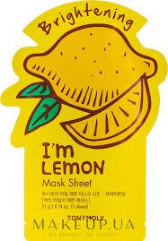 Tony Moly I'm Real Lemon Mask Sheet - <b>Листовая маска для лица</b> ...