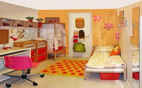 Orange Bedroom Wallpaper Beutiful Room