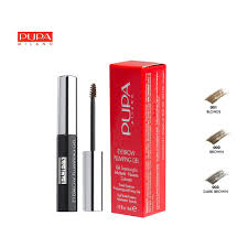 <b>Pupa Eyebrow</b> Plumping <b>Gel</b> Mascara - <b>Brown</b> 4ml | Shopee ...
