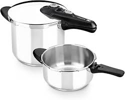 Braisogona Vitesse Stainless Steel Pressure Cooker ... - Amazon.com