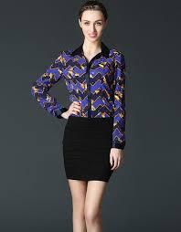 The new heavy silk shirt sleeved women slim | Женщина, Блузки ...