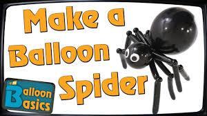 How to make a <b>Balloon Spider</b> – <b>Balloon</b> Basics 27 - YouTube