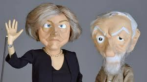 Image result for theresa may and jeremy corbyn