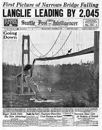 「1940 tacoma narrows bridge collapse」の画像検索結果