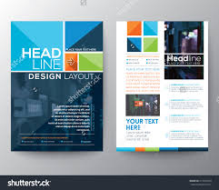 vector brochure flyer design layout template stock vector vector brochure flyer design layout template in a4 size