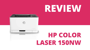 <b>HP Color Laser 150nw</b> A4 Colour Laser Printer - YouTube