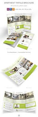 apartment for rent trifold brochure by mike pantone graphicriver apartment for rent trifold brochure informational brochures