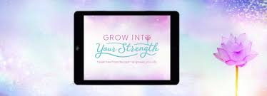 grow into your strength branding soul stirring branding grow into your strength break from the past and empower your life logo