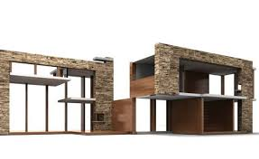 a press release on the brinca dada website notes that the emersons design was inspired by neutras kaufmann desert house and the ultra modern home that a brinca dada bennett house modern dolls