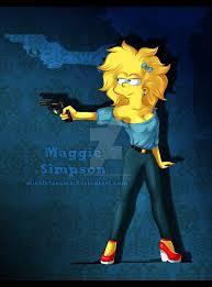 Adult Maggie <b>Simpson</b> По многочисленным заявкам colored vers ...