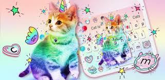 <b>Colorful Unicorn</b> Cat keyboard – Праграмы ў Google Play