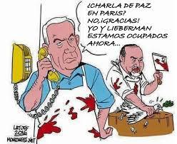 Resultado de imagen para lieberman y netanyahu caricaturas
