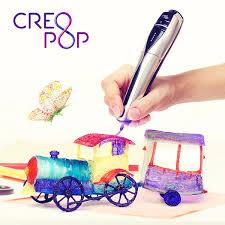 <b>CreoPop 3D</b> — первая 3Д <b>ручка</b> с холодными чернилами
