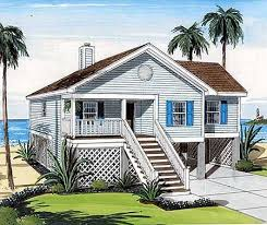 Coastal Beach House Plans On Pilings Vintage   So Replica HousesCoastal Home Plans Elevated
