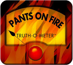 PANTS ON FIRE Truth-o-Meter