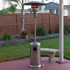 output stainless patio heater: stainless steel outdoor patio heater propane lp gas commercial restaurant new walmartcom