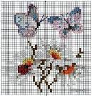 Схема вышивки крестом легкие схемы