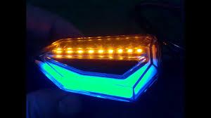 evomosa <b>Universal</b> 12 LED <b>Turn Signal Lights Blinker</b> Front Rear ...