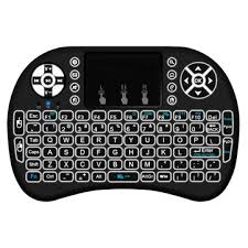 <b>MINI I8 Wireless Backlit</b> 2.4GHz Touchpad Keyboard Air Mouse For ...