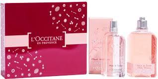 <b>L'Occitane Cherry Blossom</b> - <b>Набор</b> (edt/75ml + shg/250ml): купить ...