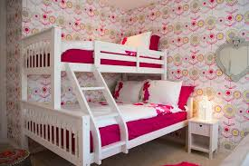 girls bedroom inspiration for a large contemporary kids room remodel for girls in london aspen white painted bedroom