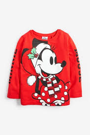 Buy Red Kids Matching Family Minnie Mouse™ Christmas Long ...
