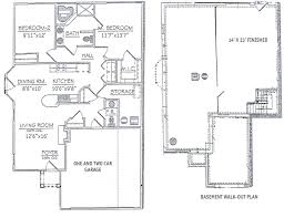 Townhouse Floor Plans for Waterview at Willowpoint Townhouses for     Bedroom Ranch  The Two Bedroom Ranch Floor Plan