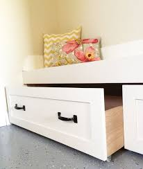 ana white build a under bench trundle drawers mudroom free and easy diy ana white build diy apothecary style
