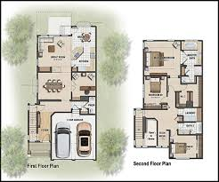 Color D Graphics   Floor Plans    Sample of color floor plan for house