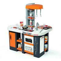сюжетно ролевые игрушки smoby кухня электронная tefal studio
