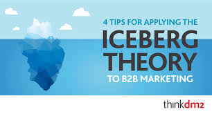 four tips for applying the iceberg theory to your bb direct marketing