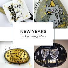 8 Easy <b>New Year's</b> Painted <b>Rocks</b> - <b>Rock</b> Painting 101