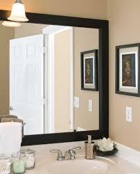 bathroom vanity mirror ideas modest classy: fabulous framed bathroom mirror ideas for your house decorating ideas with framed bathroom mirror ideas