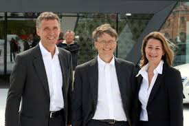 Image result for bill gates and melinda gates