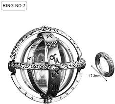 Seasons shop <b>Astronomical Sphere Ball Ring</b> Cosmic Finger Ring ...