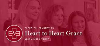 <b>Heart</b> to <b>Heart</b> Grant - Alpha Phi Foundation