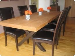 How To Build A Dining Room Table Build Dining Room Table 1000 Ideas About Diy Dining Table On