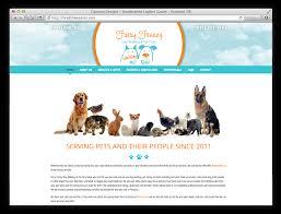 furry frenzy dog walking pet care web design development web design oregon
