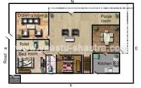 Vastu Model Floor Plans for West DirectionModel Floor Plan for West Direction