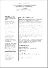 cover letter good teacher resume examples cover letter elementary education daycare certificationsample resume preschool teacher medium sample resume for daycare teacher