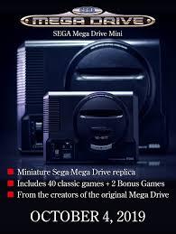 SEGA Mega Drive Mini | Official Website