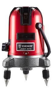 Лазерный уровень самовыравнивающийся <b>DEKO LL57</b> SET1 ...