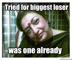 Tried for biggest loser was one already - Perpetual Failure ... via Relatably.com